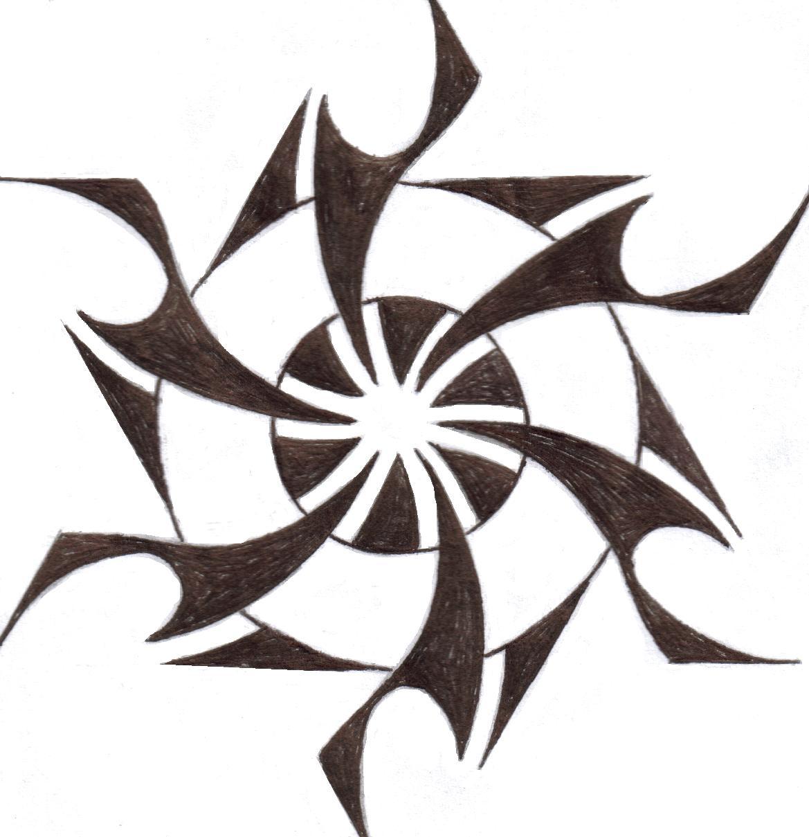 Tribal Sun Drawings