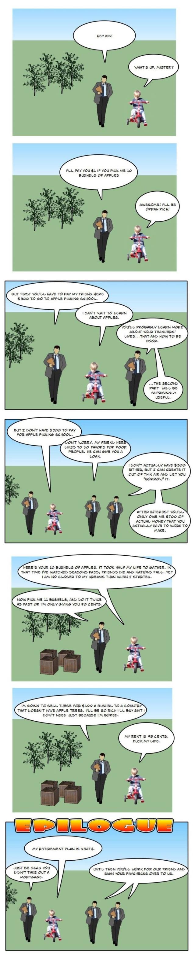 (Comic) How The Economy Works