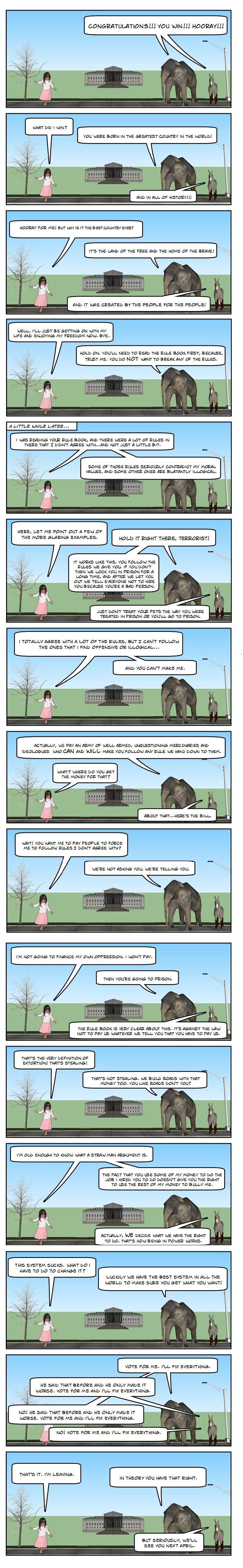(Comic) How Freedom Works