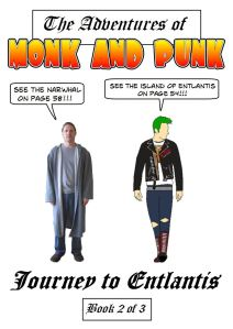 Monk and Punk: Book 2