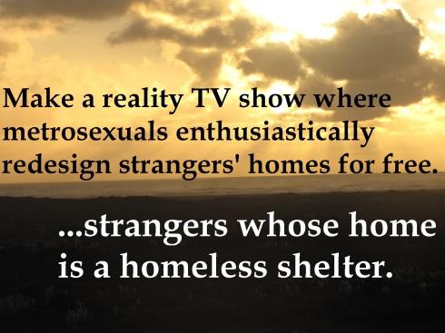 ...or a refugee camp.