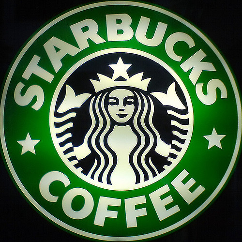 Picture of the Starbucks logo