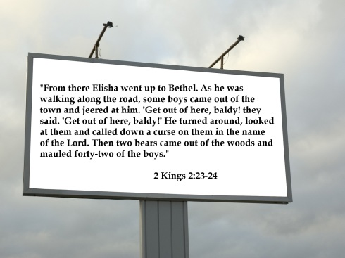 Christian billboards I wish Atheists would make #7