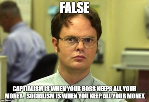 socialism false