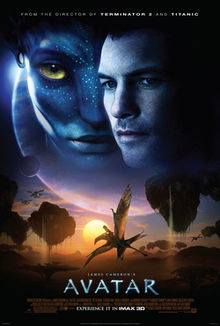 "Promotional poster of the movie, ""Avatar"""